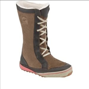 Sorel Mackenzie Lace Up Tall Winter Boots